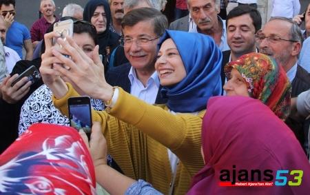 Ahmet Davutoğlu Rize'de!