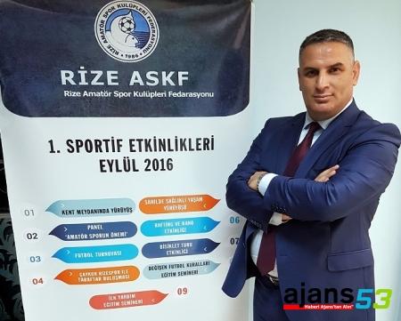 Rize ASKF Sportif Etkinlikler ve Eğitim Seminerleri Düzenliyor!